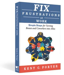 fix frustrations at work book