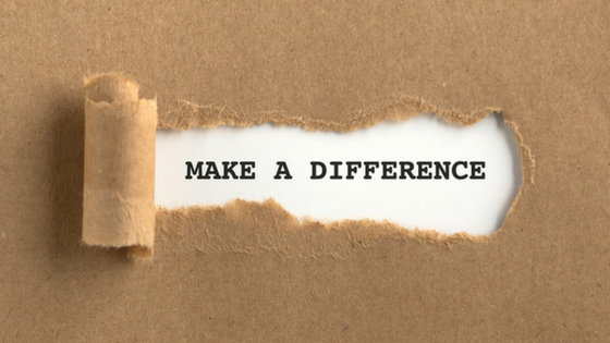 Are you a difference maker